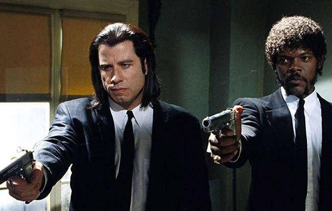 John Travolta e Samuel L. Jackson