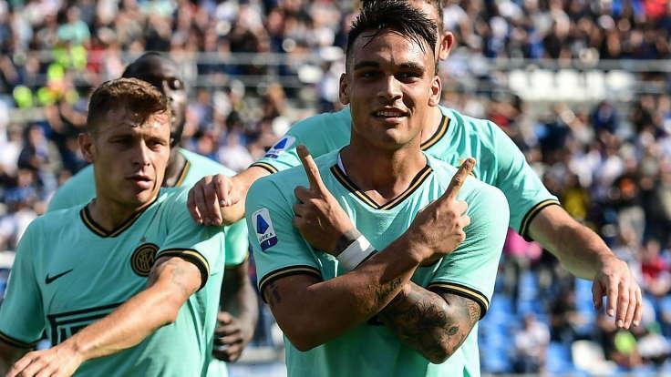 Sassuolo vs Inter Serie A
