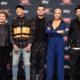 Alessandro Cattelan e la giuria di X-Factor