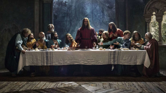 L'ultima cena in Io, Leonardo