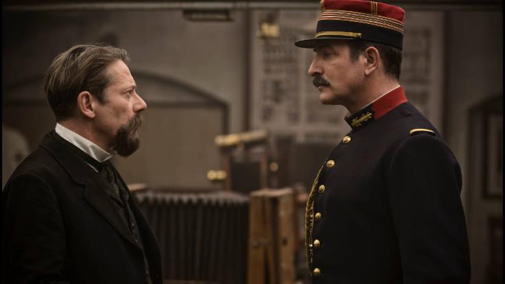 Jean Dujardin e Mathieu Amalric ne L'ufficiale e la spia