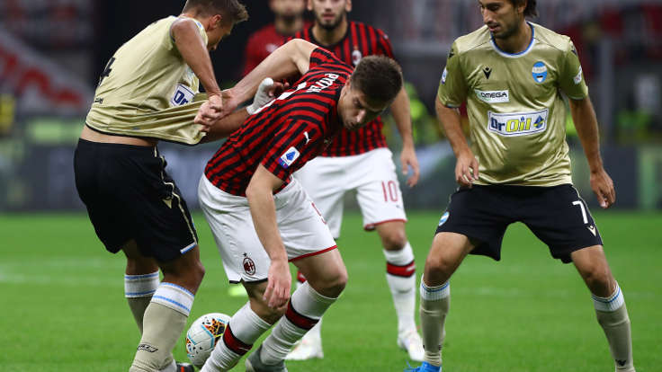 Milan vs Spal