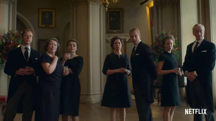 Il cast di The Crown 3