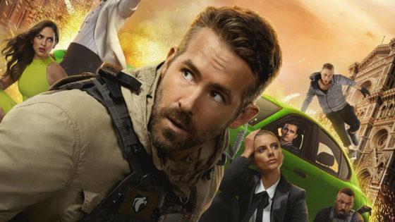 Ryan Reynolds e il cast di 6 Underground