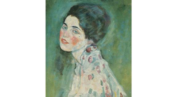 Klimt, ritratto di signora