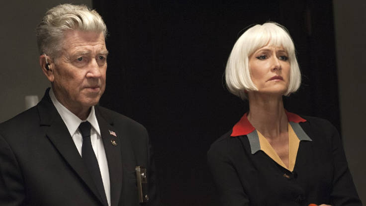 David Lynch e Laura Dern in Twin Peaks