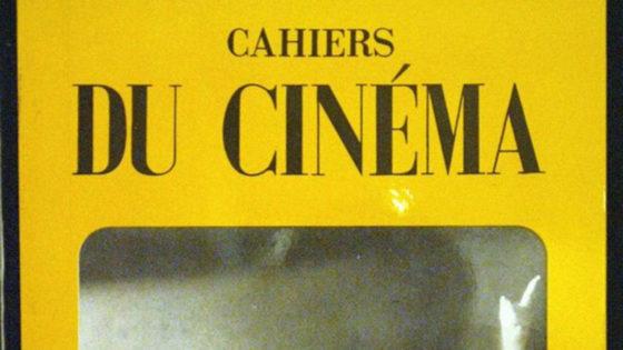 Copertina Cahiers du Cinema