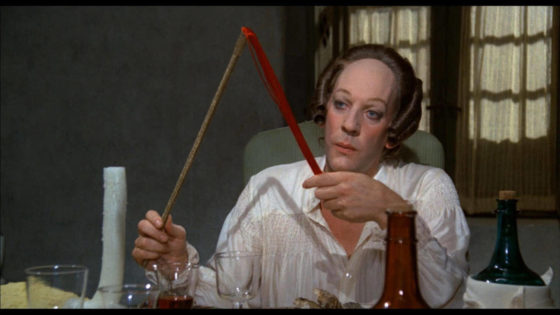 Donald Sutherland nei panni di Casanova