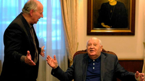 Herzog e Gorbaciov in Werner Herzog incontra Gorbaciov