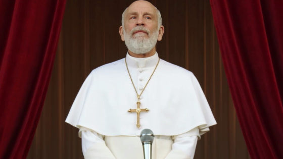 John Malkovich in The new pope