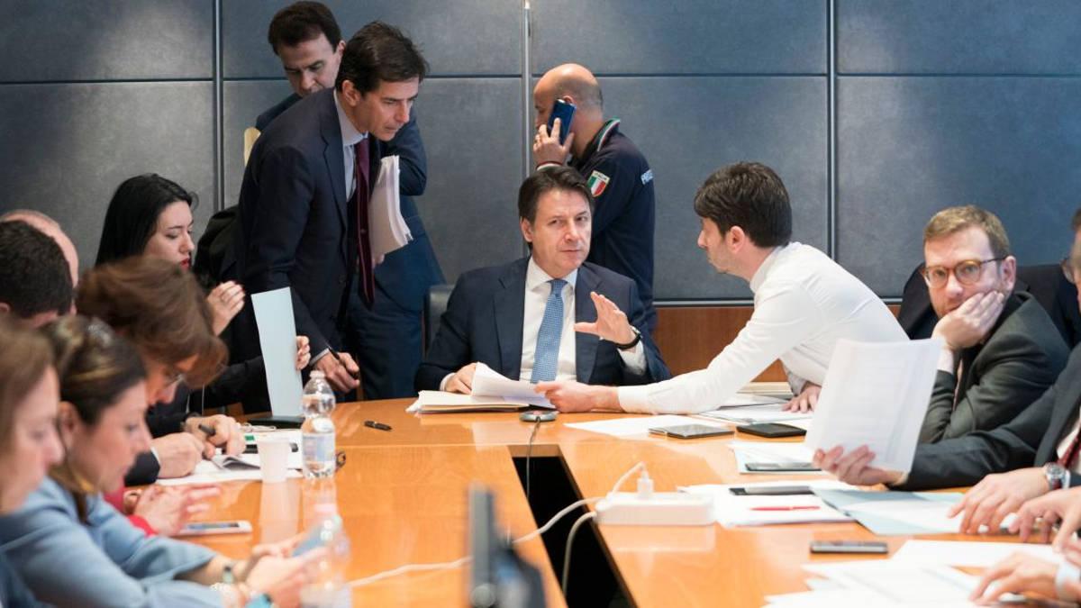 Conte e Speranza alla protezione civile italiana