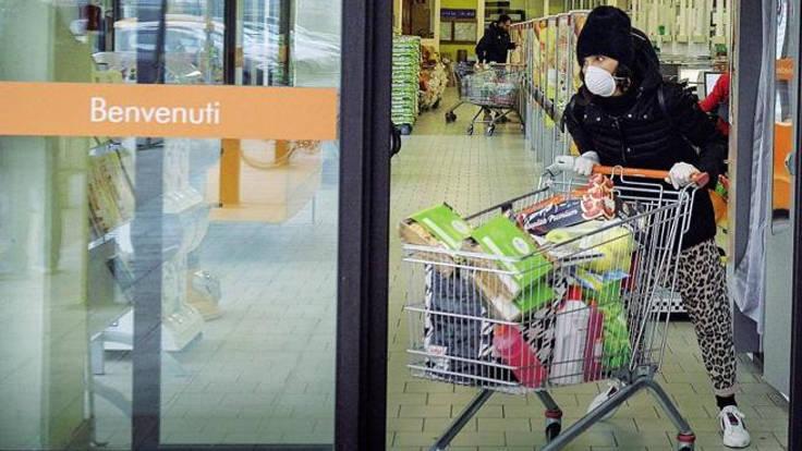 Ressa al supermercato