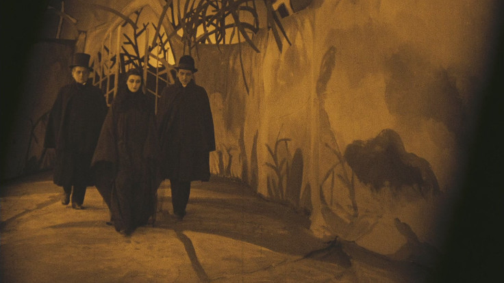 Una scena tratta da Il gabinetto del dottor Caligari
