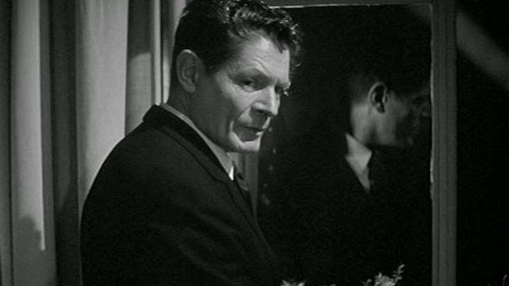 Alain Cuny in una scena tratta da La dolce vita