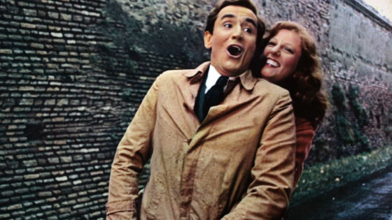 Vittorio Gassman e Stefania Sandrelli