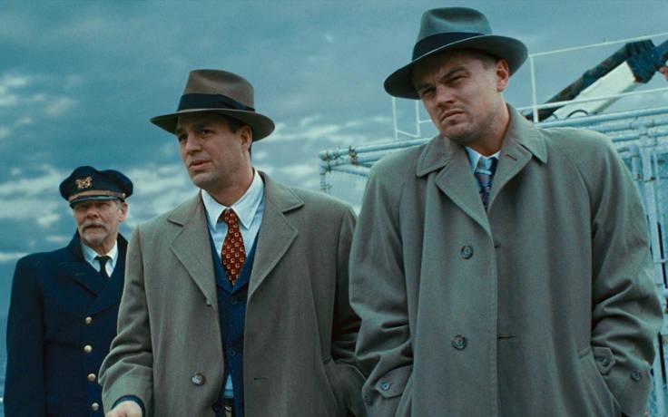 Una scena di Shutter Island con Leonardo Di Caprio