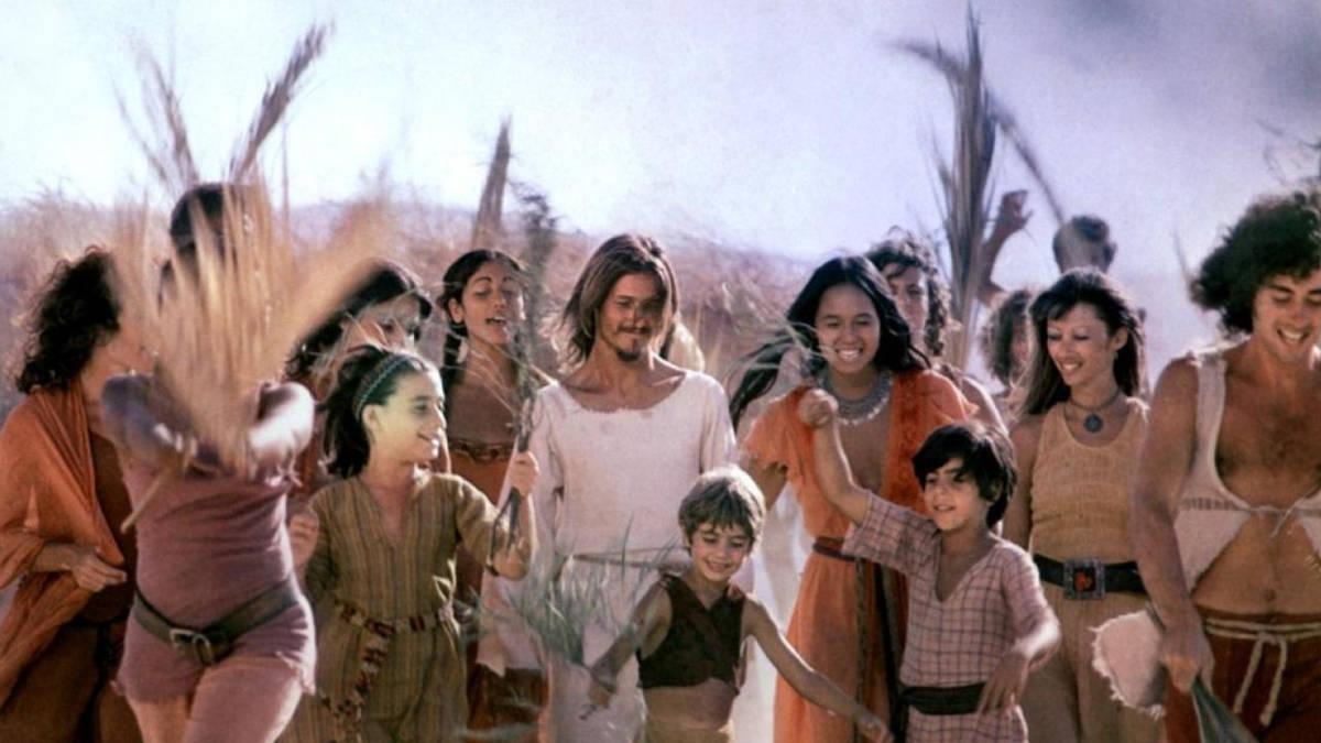 Una scena tratta da Jesus Christ Superstar