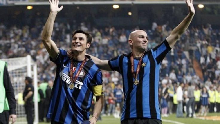 Javier Zanetti ed Esteban Cambiasso