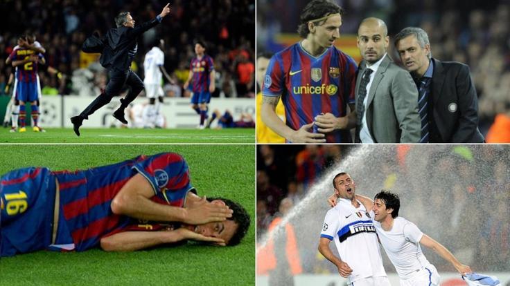 Barça-Inter, gli idranti, la gioia