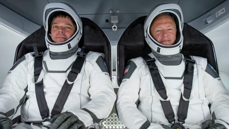 Bob e Doug astronauti SpaceX