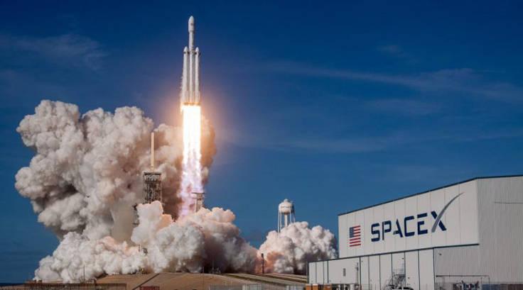 Lancio shuttle spacex