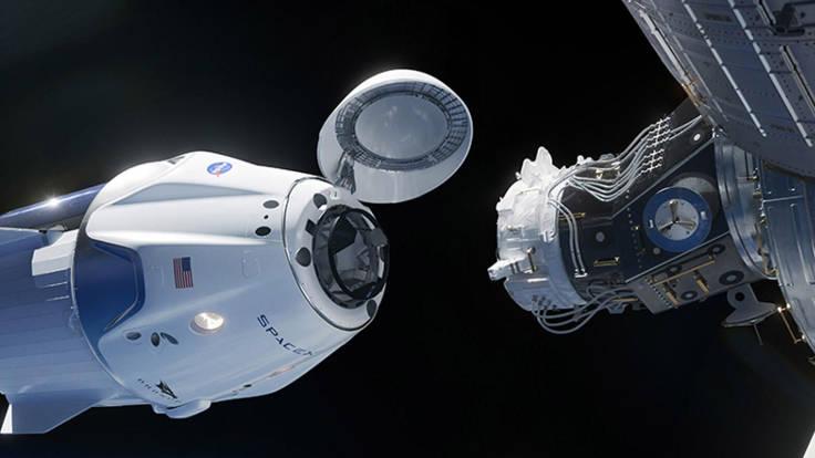Aggancio navicella SpaceX