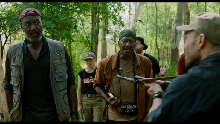 Delroy Lindo in una scena del film di Spike Lee