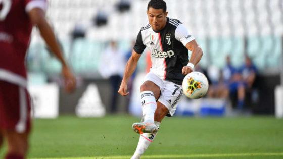 Cristiano Ronaldo Serie A