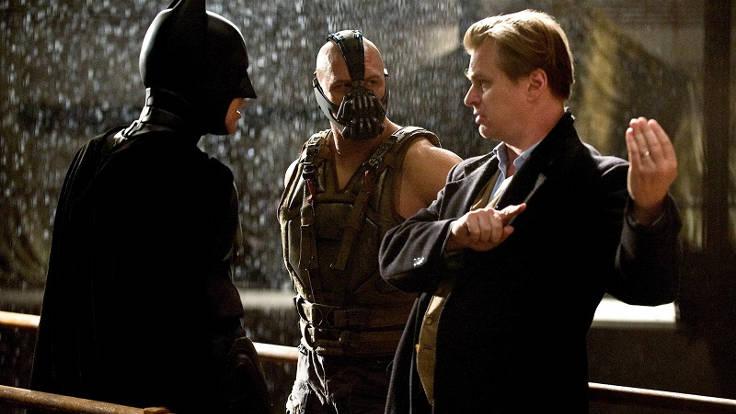Nolan sul set di Batman