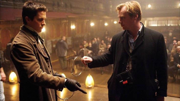 Nolan sul set di The Prestige