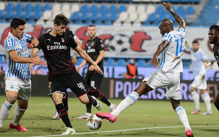 Spal vs Milan