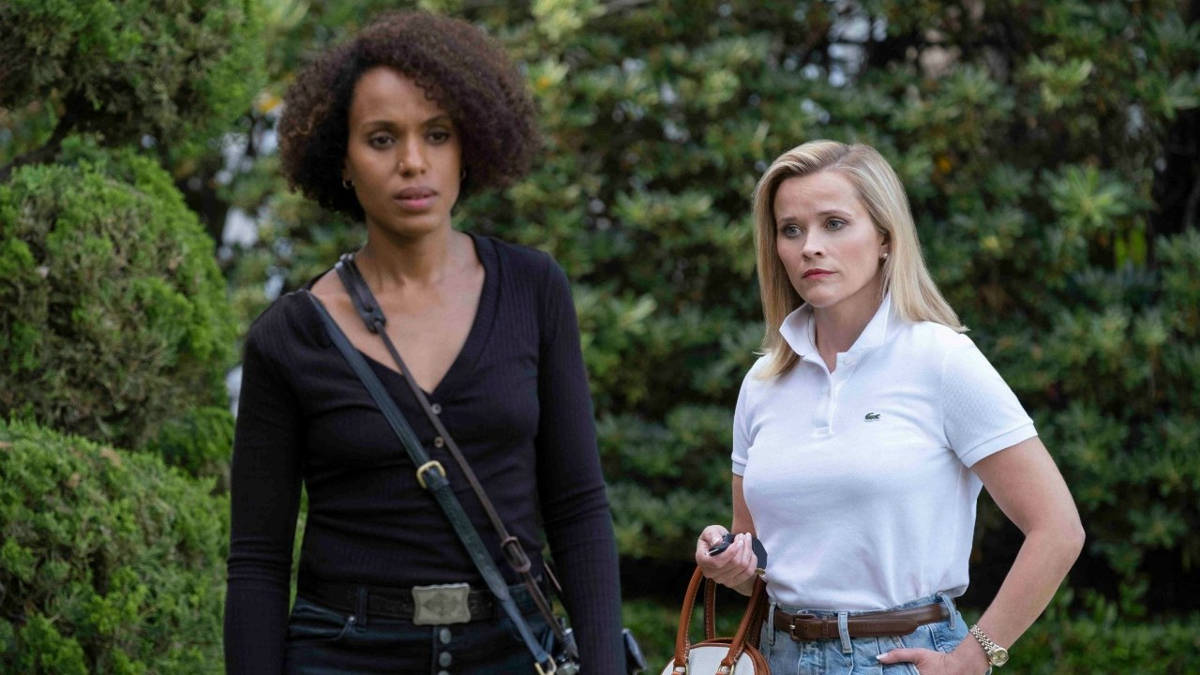 Reese Whiterspoon e Kerry Washington in Little Fires Everywhere