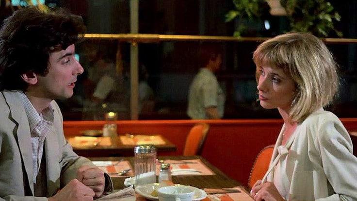 Griffin Dunne e Rosanna Arquette in una scena tratta da Fuori Orario