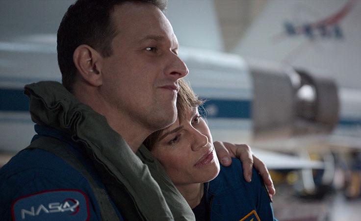 Matt ed Emma in una scena della serie