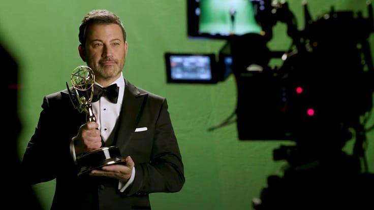 Host Jimmy Kimmel - Primetime Emmy Awards