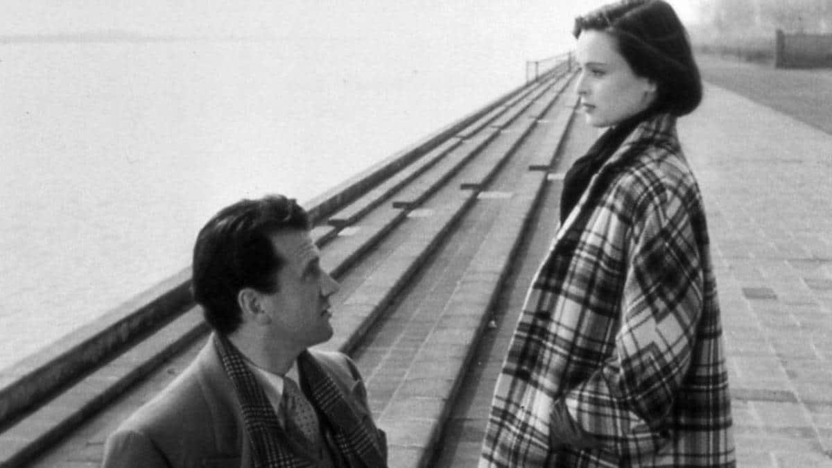 Lucia Bosè e Massimo Girotti in Cronaca di un amore