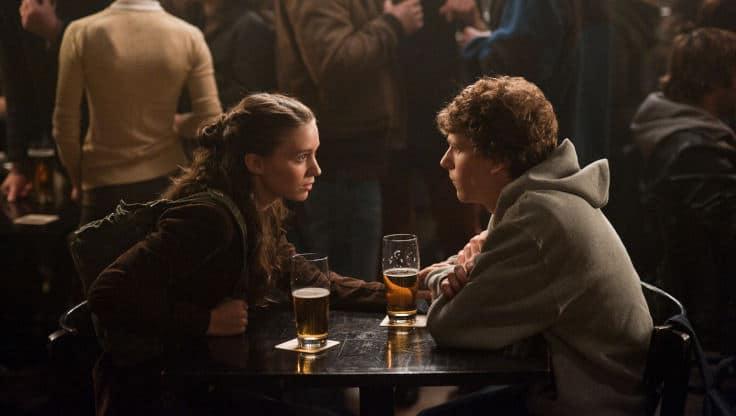 Jesse Eisenberg e Rooney Mara