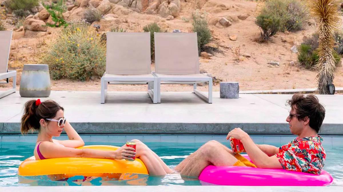Una scena di Palm Springs